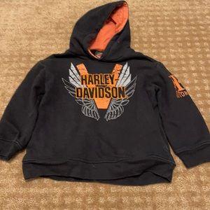 Boys Harley-Davidson pullover sweatshirt Black 6